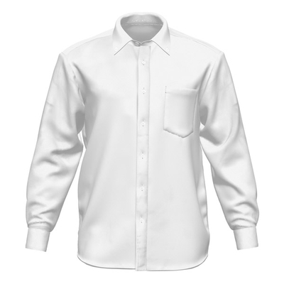 長袖ボタンダウンシャツ テーラーメイド